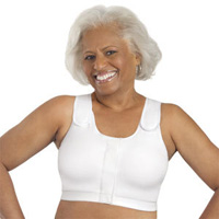 Adjustable comparession bras